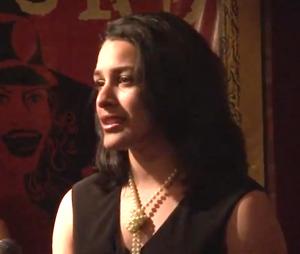 Cecelia Ticktin singing Dancing in Pairs