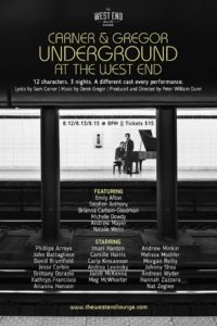 Carner & Gregor Underground Poster