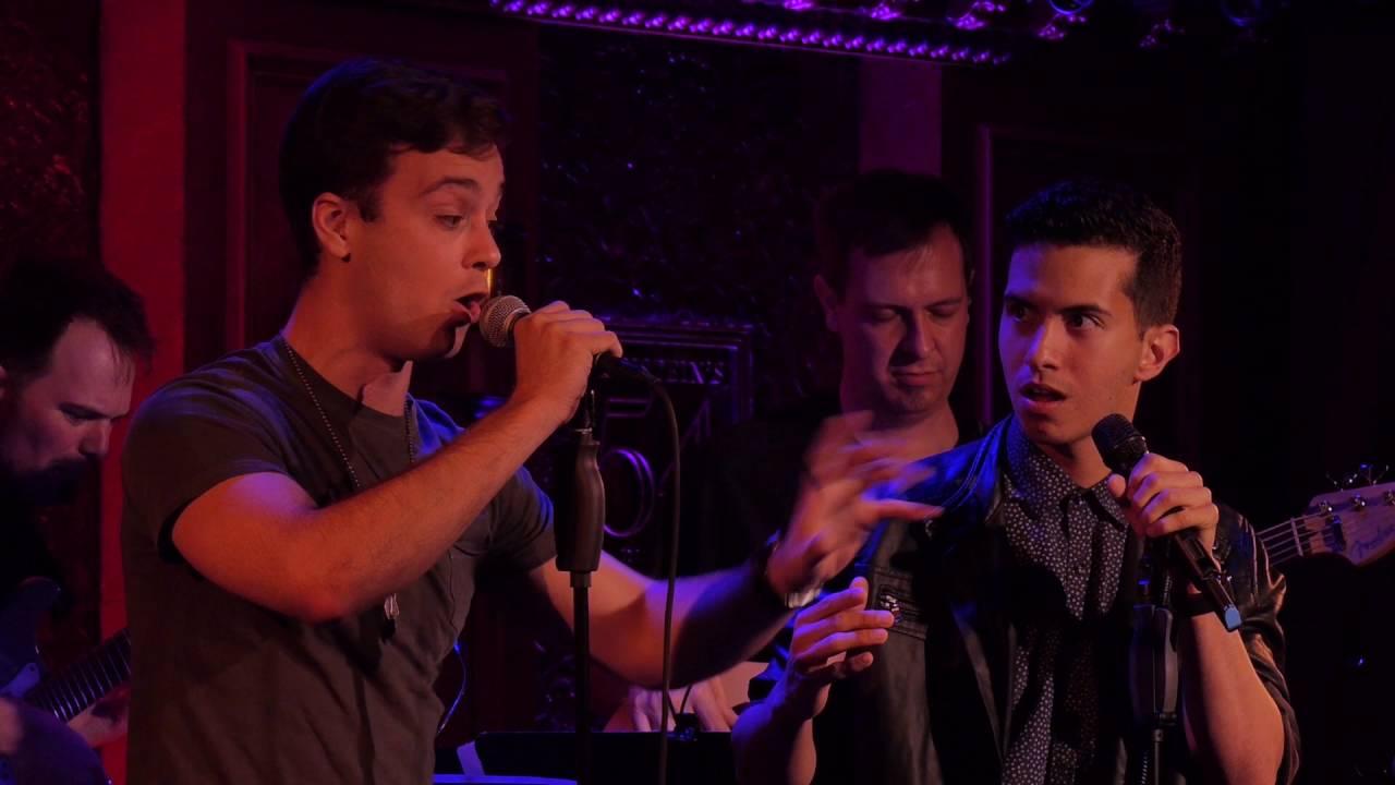 Stephen C. Anthony and Philippe Arroyo singing Man Crush